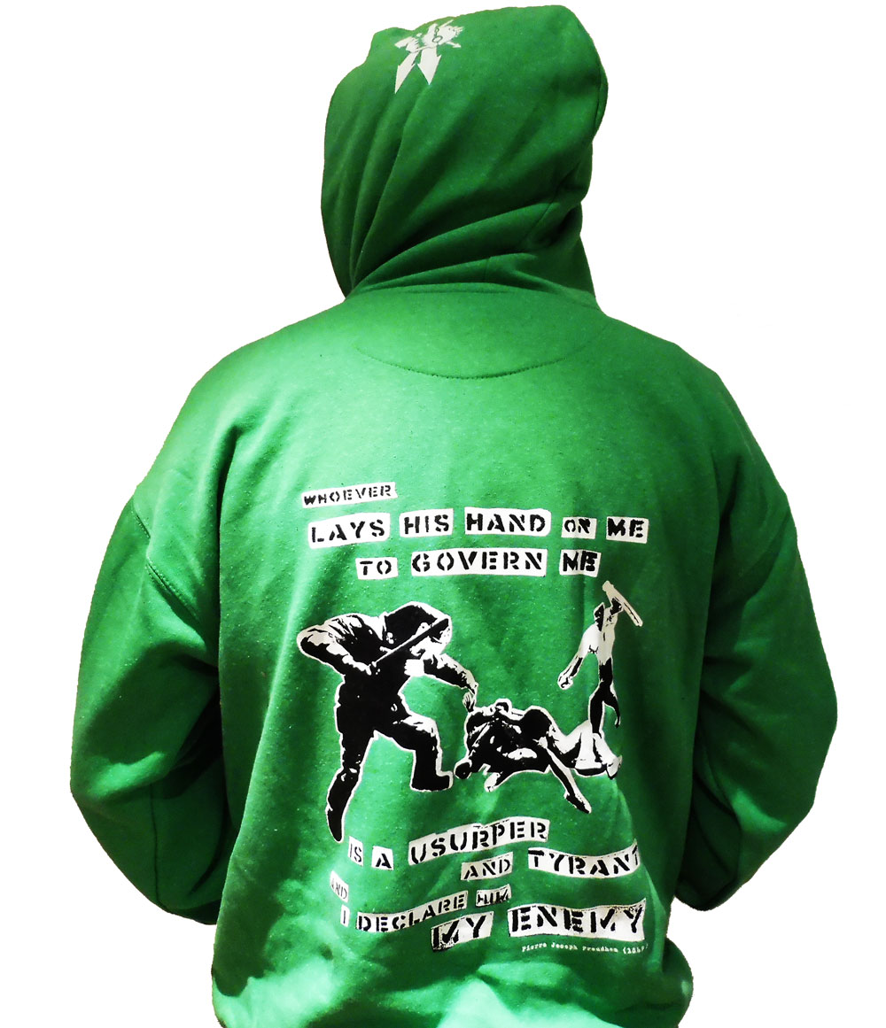 Revolting Mass / MAS - Anti-Police Brutality Colour Hoodie