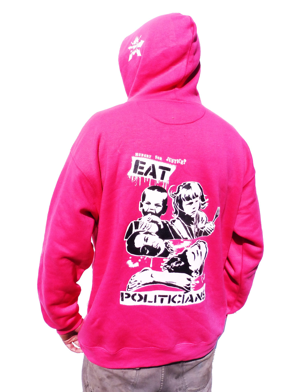 Revolting Mass / MAS - Eat Politicians Colour Hoodie