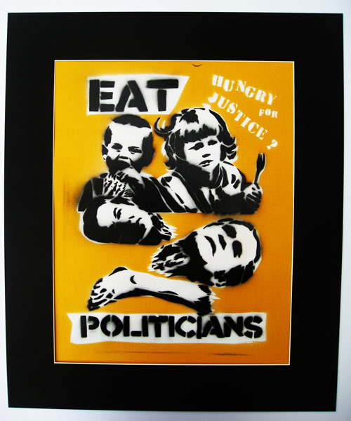 Hungry for Justice, Eat Politicians