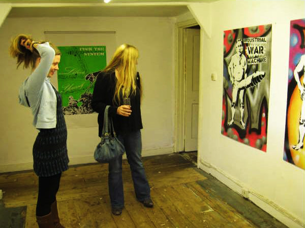 Revolting Mass / MAS - Stolen Wall Exhibition