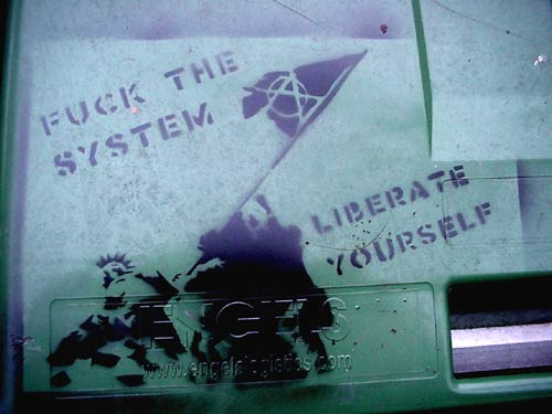 Fuck the System - Liberate Yourself - Early Piece