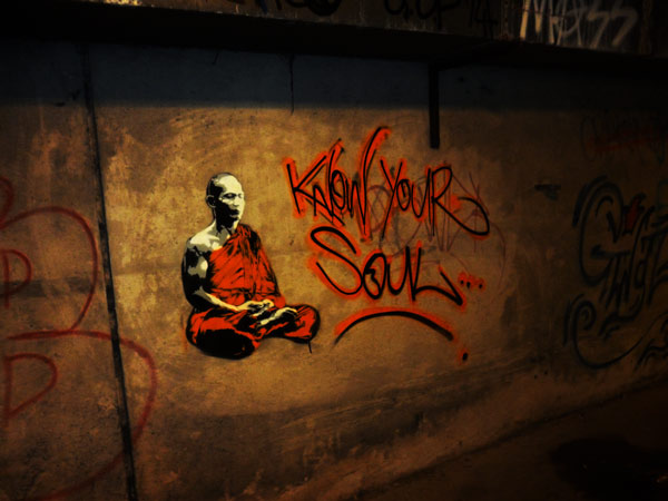 Know Your Soul - Street Art Graffiti