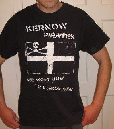 Revolting Mass / MAS - Kernow Pirates T-shirt